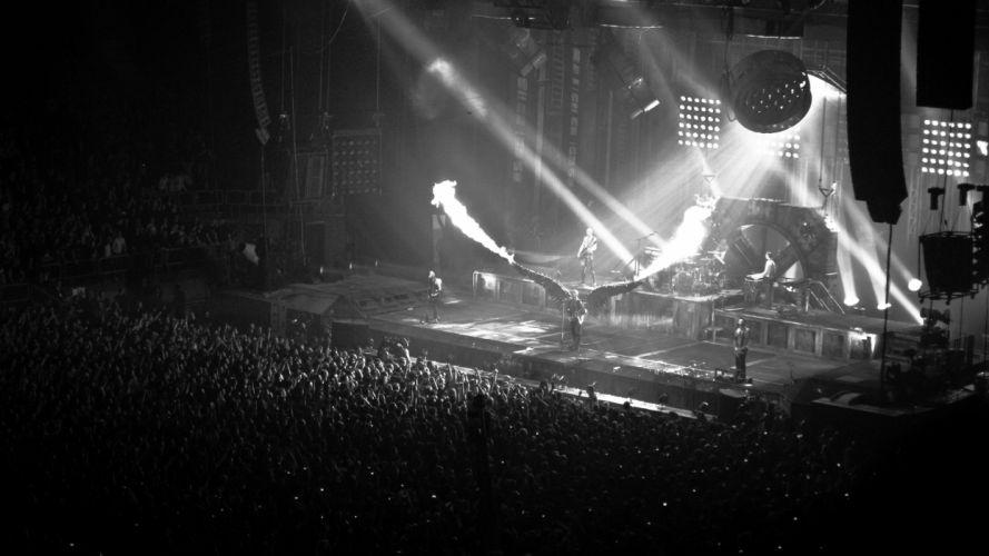 RAMMSTEIN industrial metal heavy concert concerts fire y wallpaper