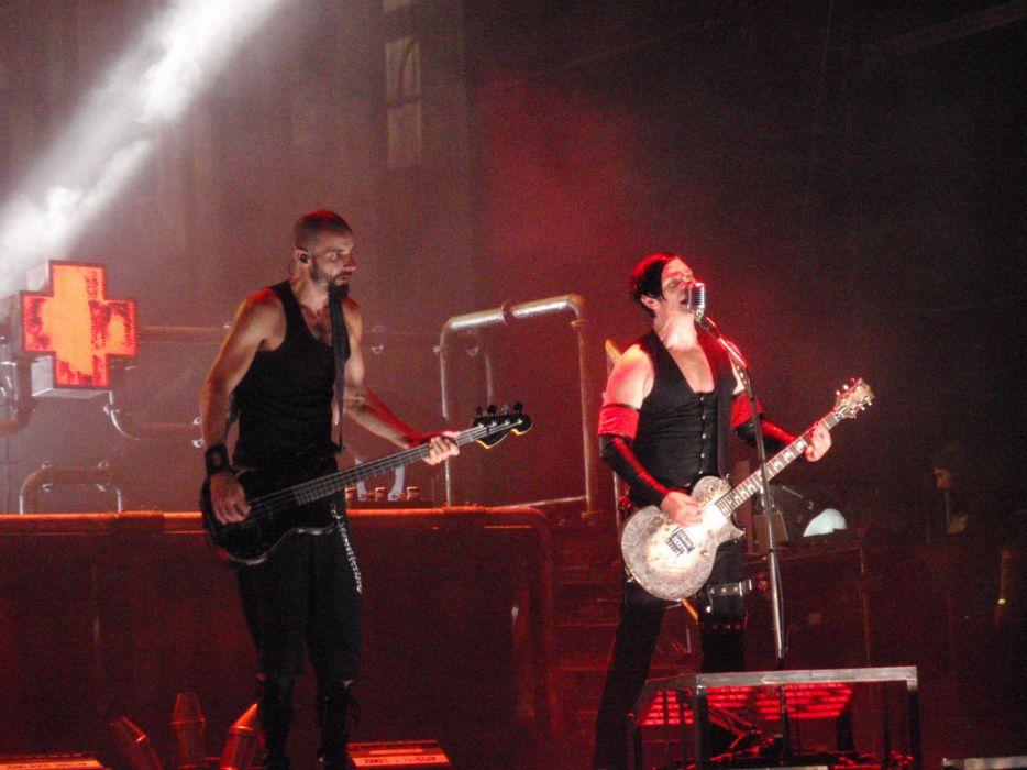 RAMMSTEIN industrial metal heavy guitar guitars concert concerts     d wallpaper