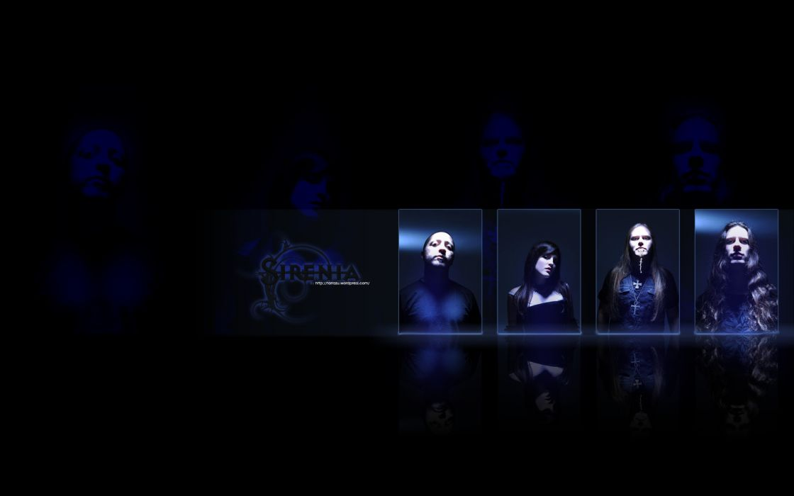 SIRENIA gothic metal heavy         f wallpaper