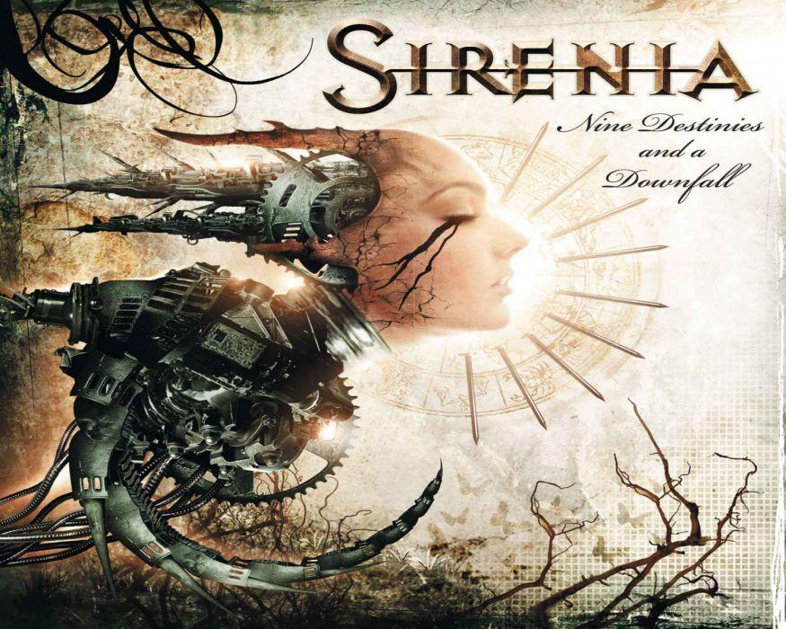 SIRENIA gothic metal heavy cover  s wallpaper