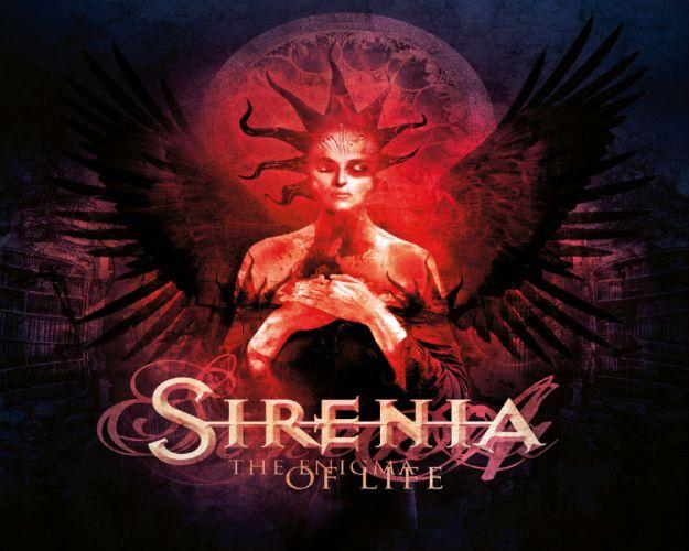 SIRENIA gothic metal heavy cover wallpaper
