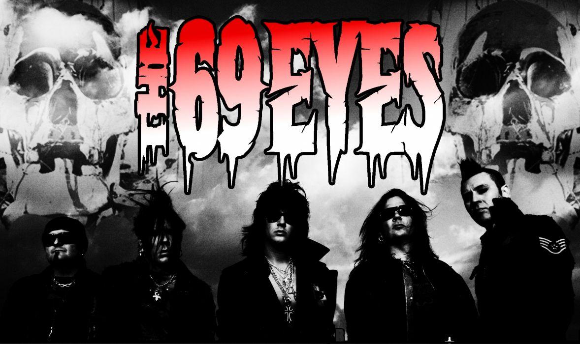 THE 69-EYES glam metal heavy nu-metal       f wallpaper