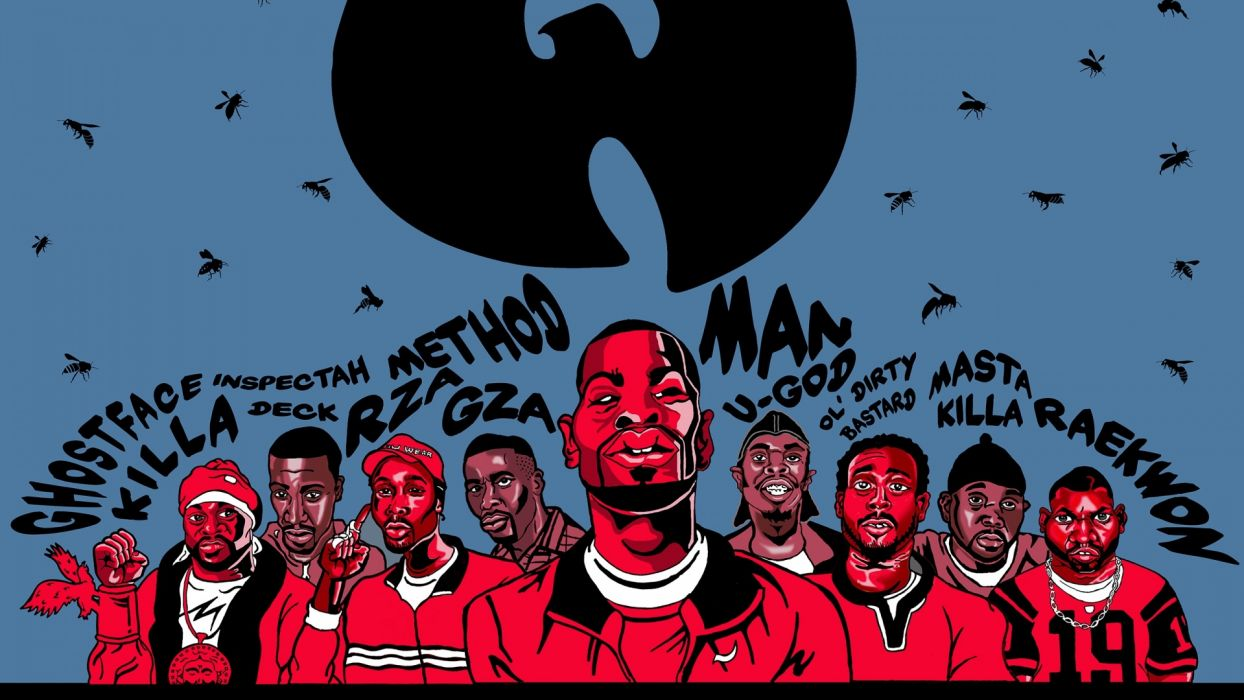 Wu-Tang Clan gangsta rap hip hop    n wallpaper
