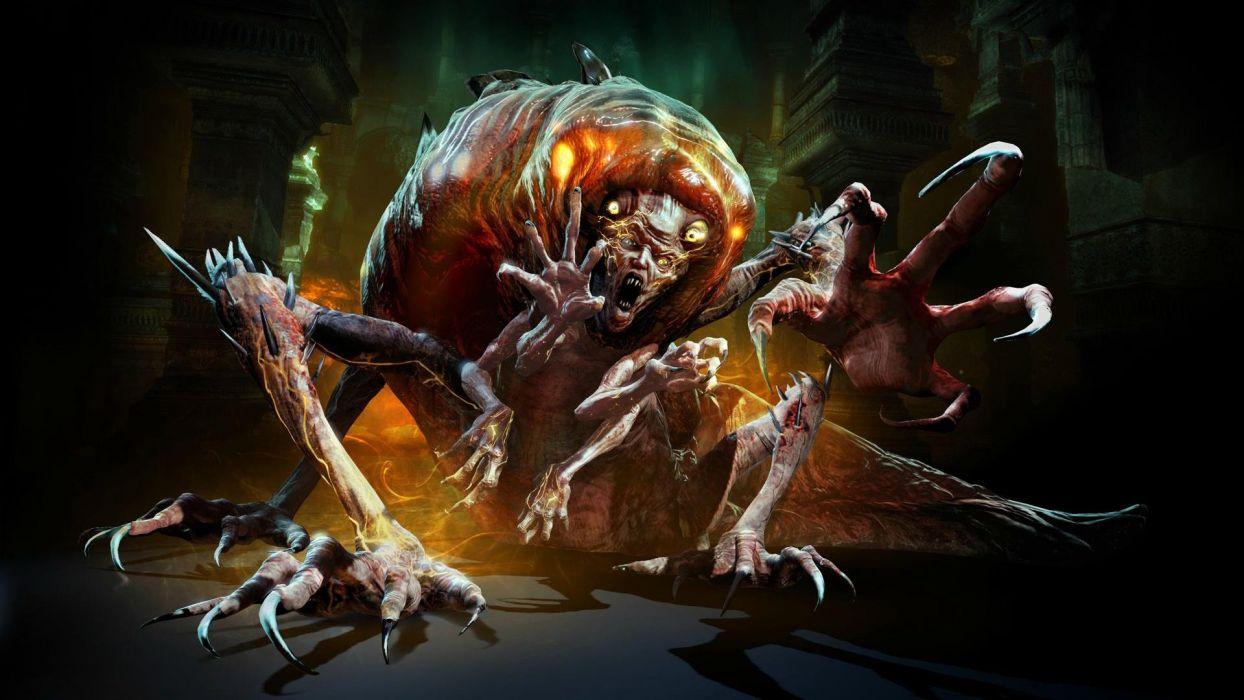 Devil May Cry dmc dark monster monsters wallpaper