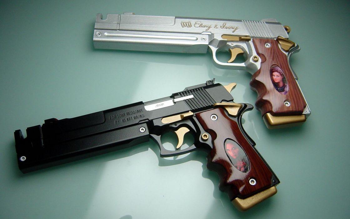 Devil May Cry dmc weapon weapons gun guns wallpaper