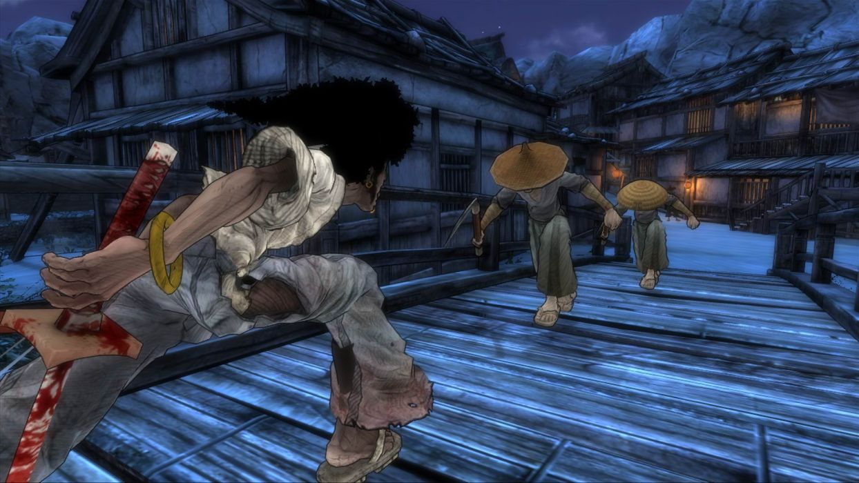 Afro Samurai anime game                  g wallpaper