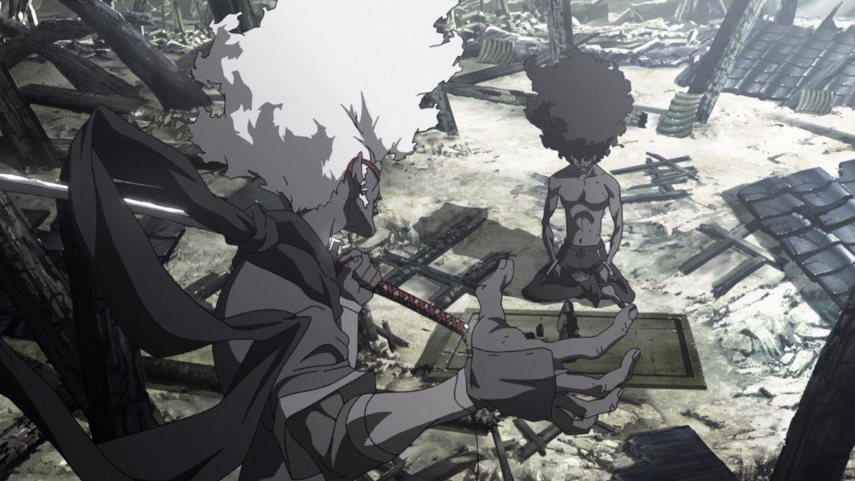 Afro Samurai anime game           h wallpaper