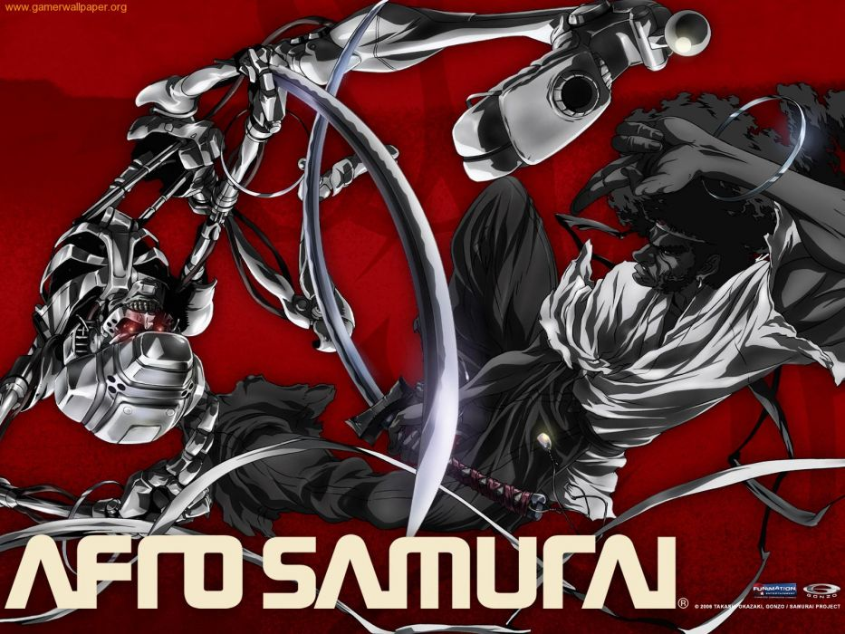 Afro Samurai anime game     b wallpaper