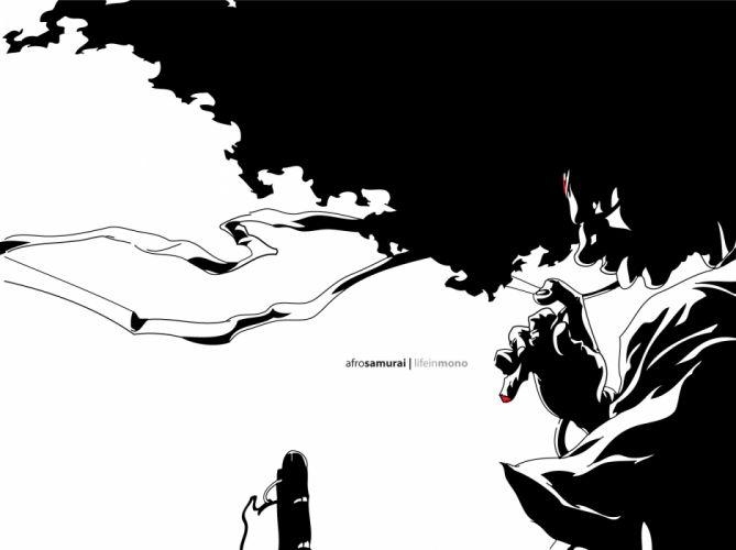 Afro Samurai anime game e wallpaper