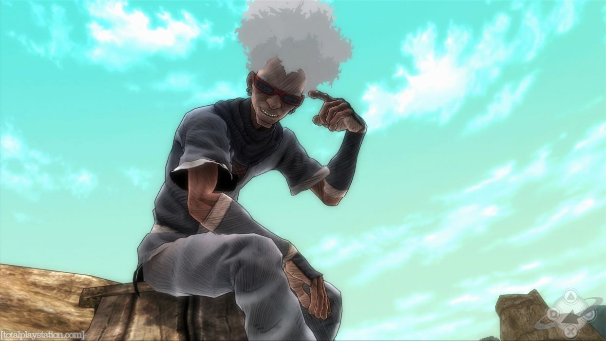 Afro Samurai anime game     n wallpaper