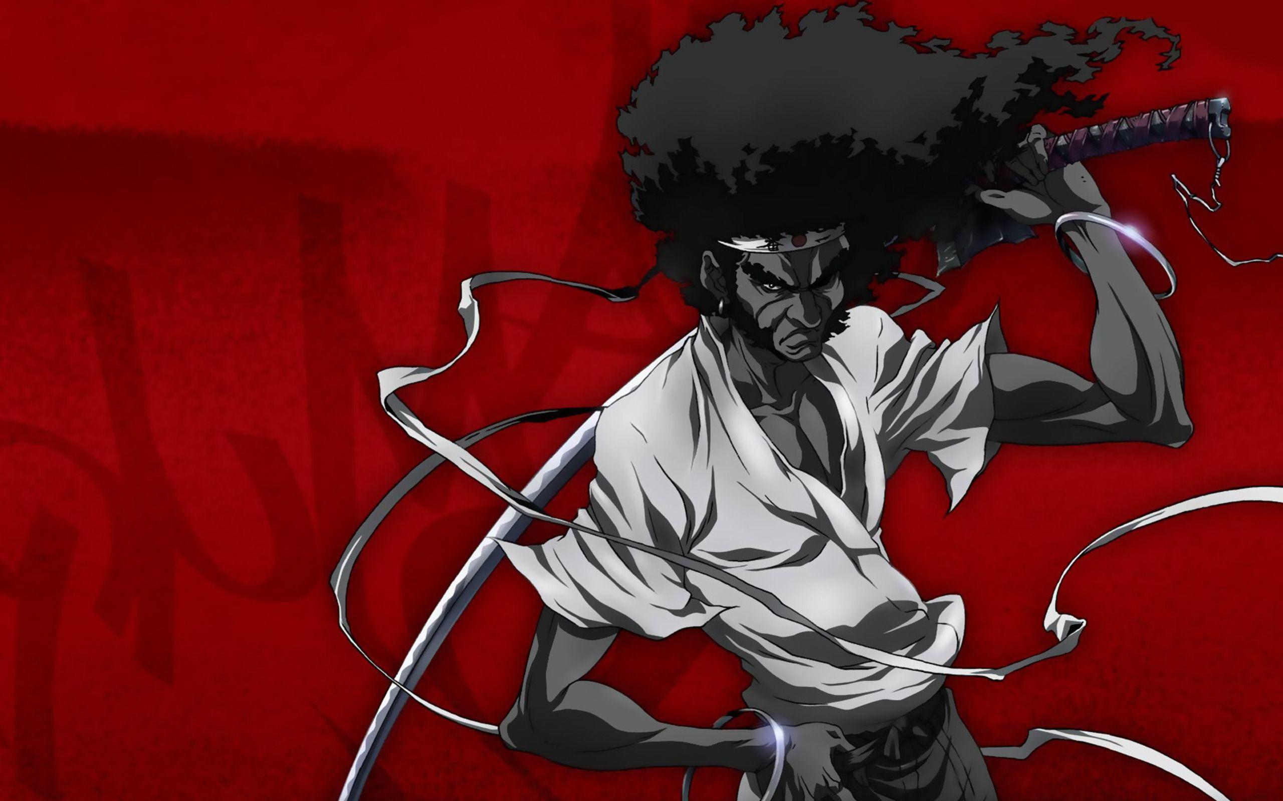 afro samurai anime game b wallpaper 2560x1600 91846