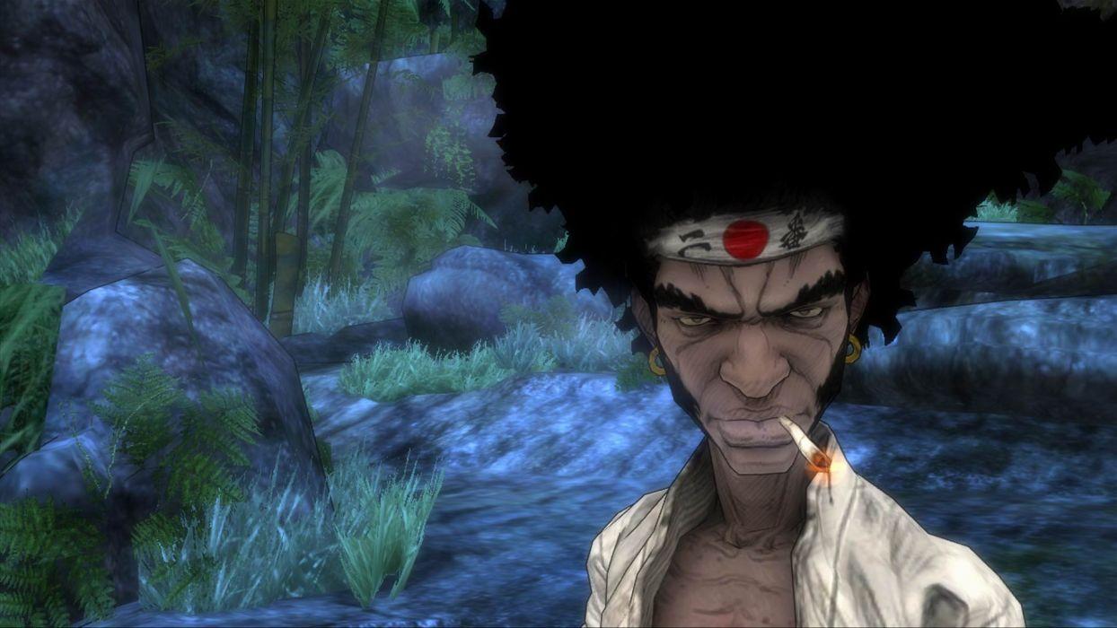 Afro Samurai anime game     s wallpaper