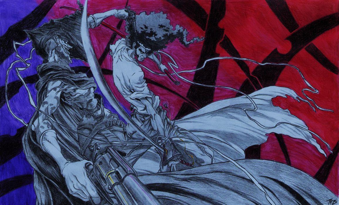 Afro Samurai anime game     i wallpaper