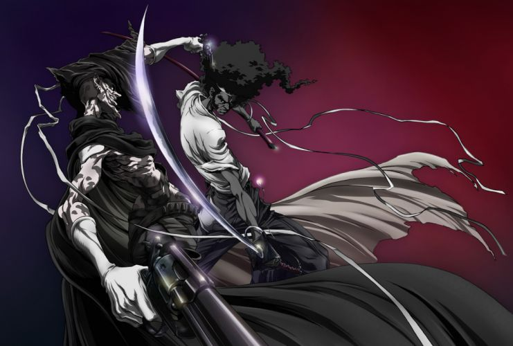 Afro Samurai anime game n wallpaper