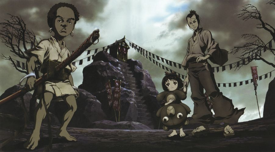Afro Samurai anime game v wallpaper