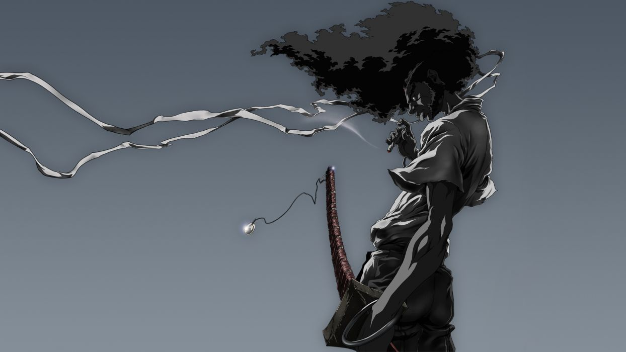 Afro Samurai anime game   g wallpaper