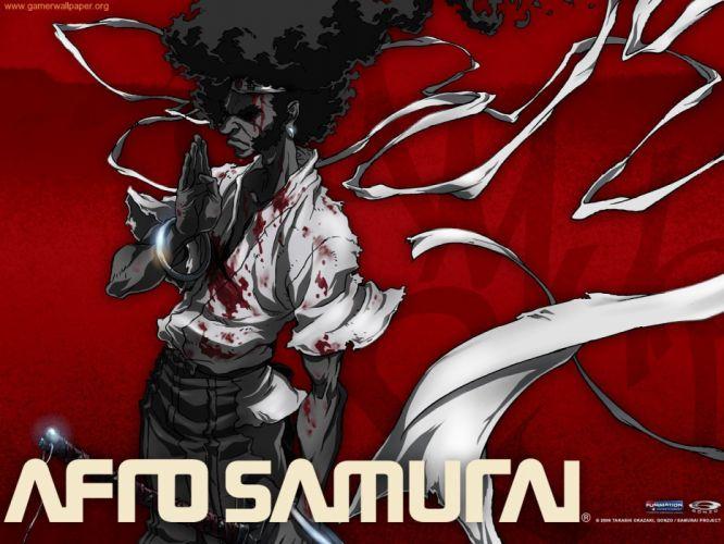 Afro Samurai anime game er wallpaper