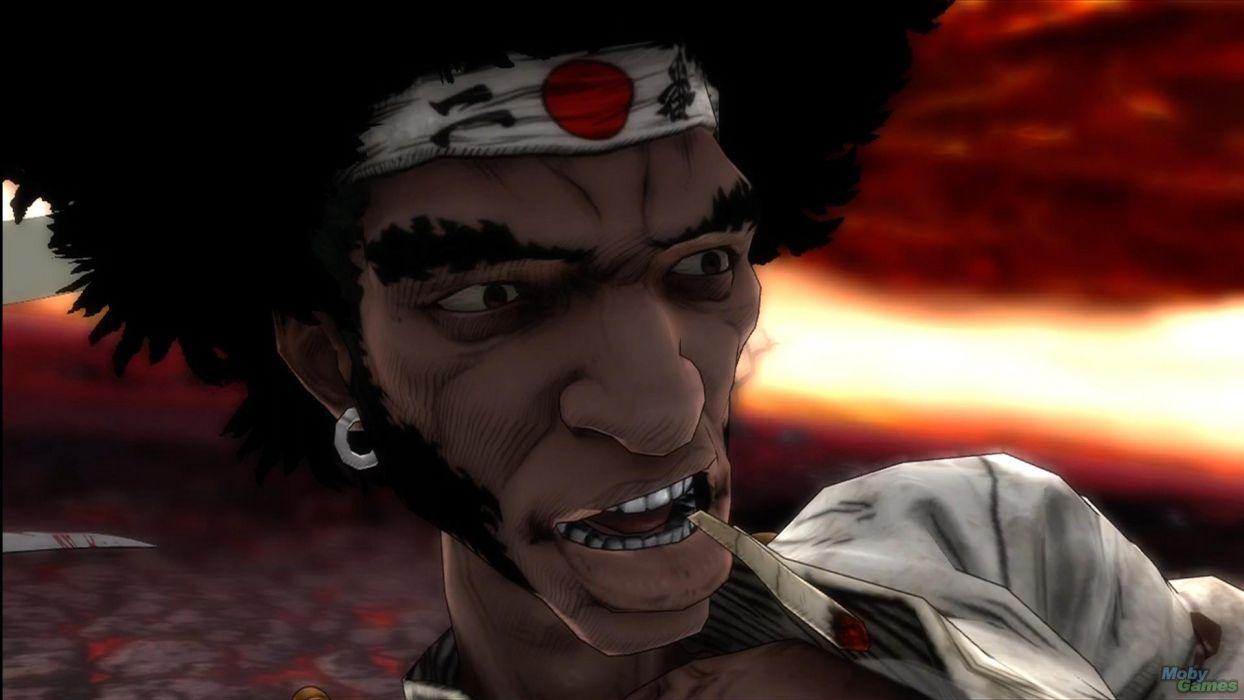 Afro Samurai anime game  r wallpaper