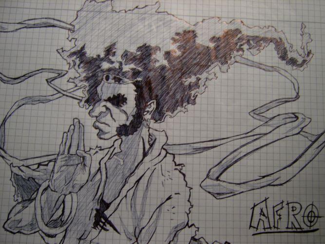Afro Samurai anime game u wallpaper