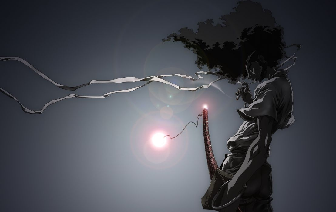 Afro Samurai anime game  b wallpaper