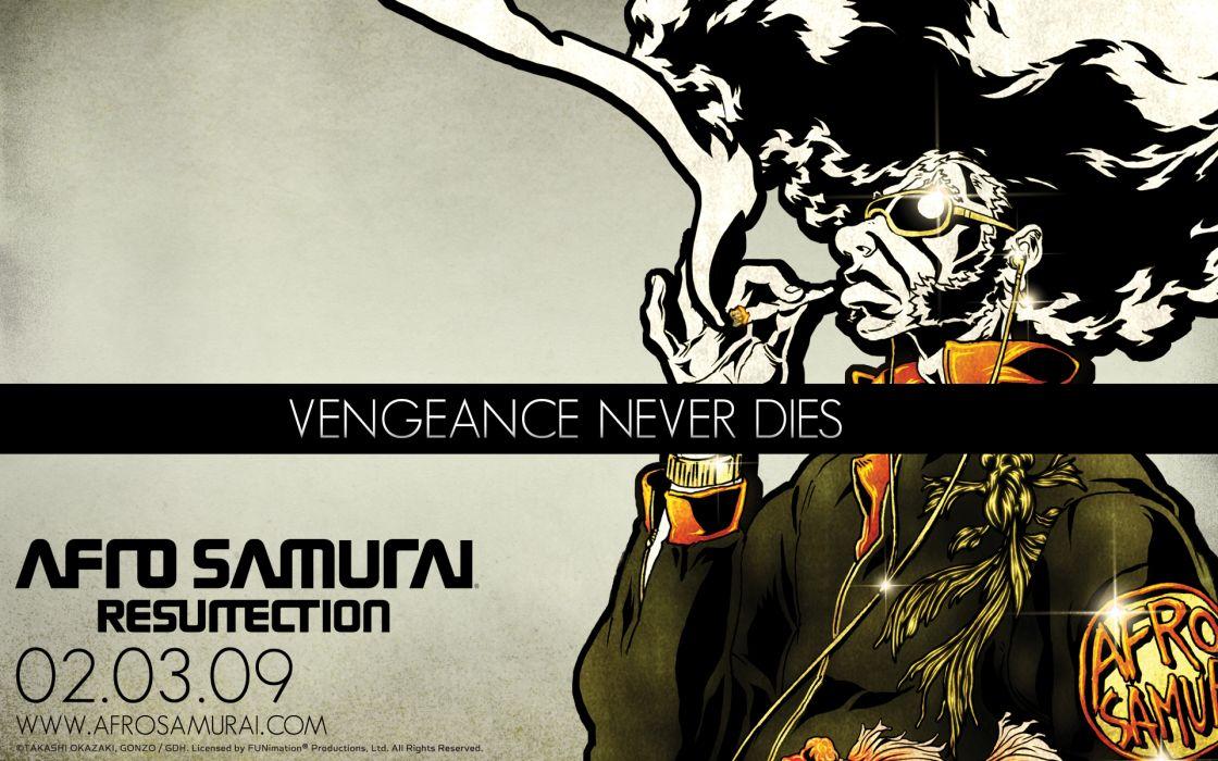 Afro Samurai anime game poster posters wallpaper