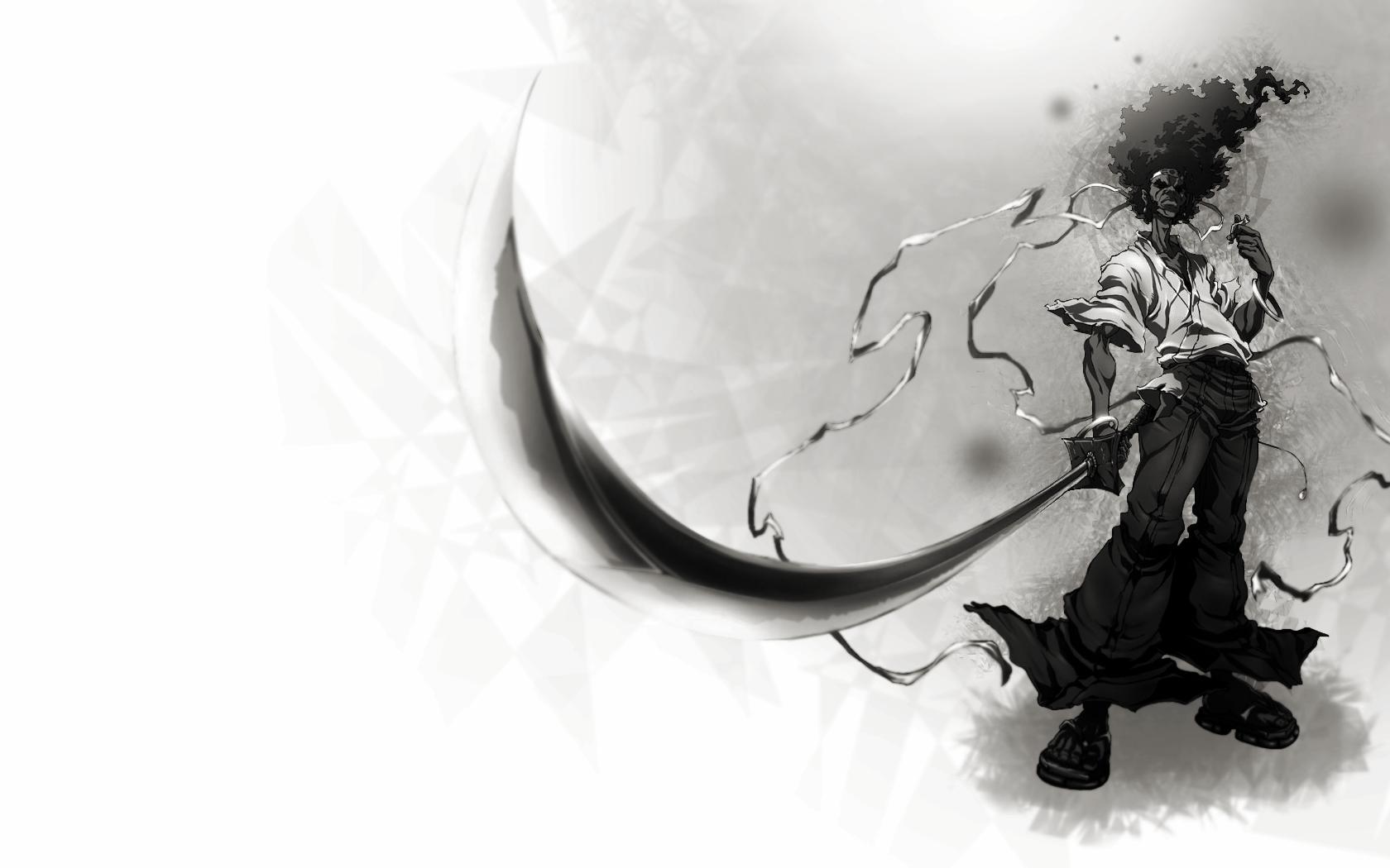 Afro Samurai Anime Game W Wallpaper 1680x1050 91897 Wallpaperup