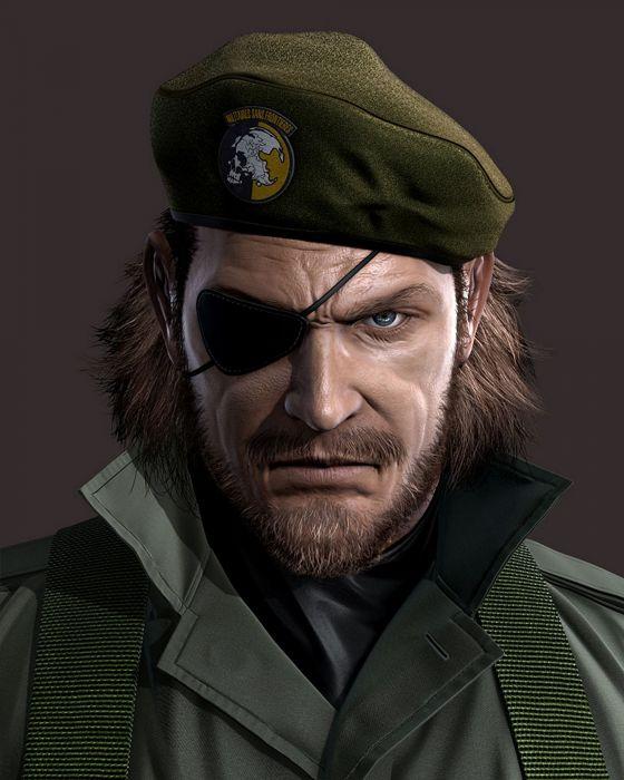Naked Snake Metal Gear Solid Peace Walker renders wallpaper