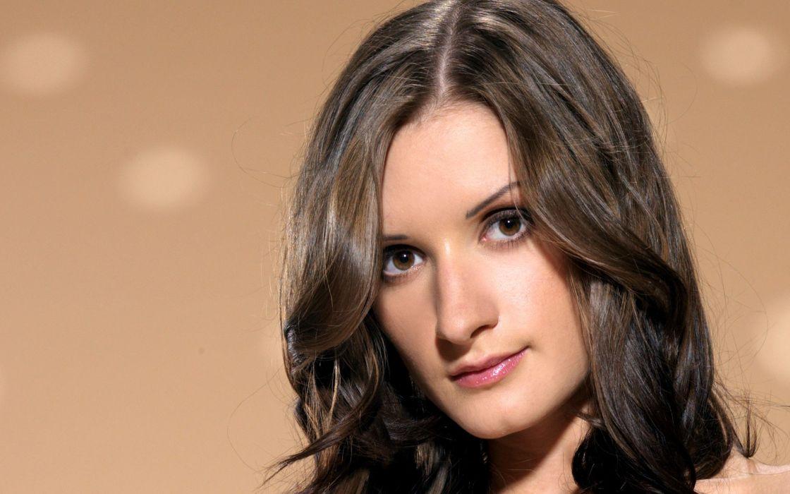 brunettes women models Alina H wallpaper
