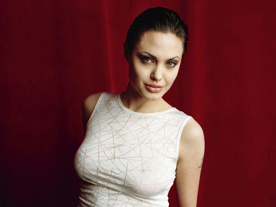 Angelina Jolie actress brunette girl girls women female females   j wallpaper