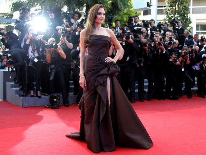 Angelina Jolie actress brunette girl girls women female females camera g wallpaper