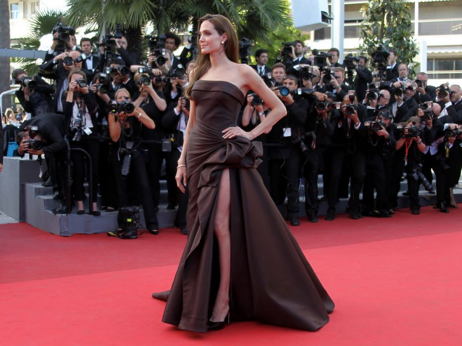 Angelina Jolie actress brunette girl girls women female females camera    y wallpaper