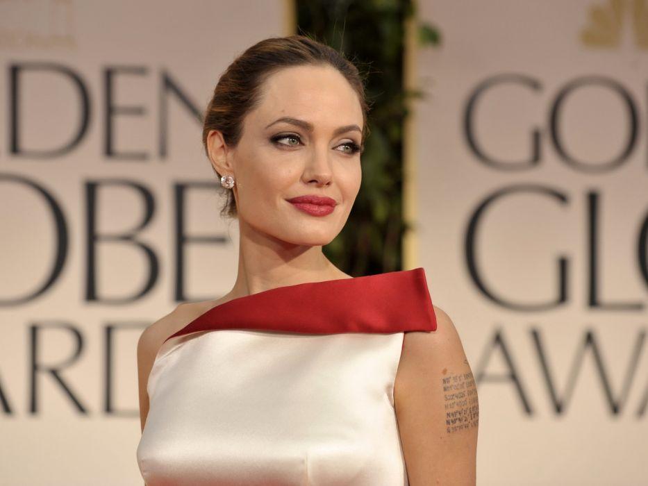 Angelina Jolie actress brunette girl girls women female females w wallpaper
