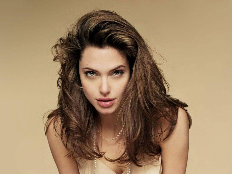 Angelina Jolie actress brunette girl girls women female females wallpaper