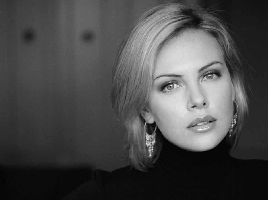 Charlize Theron actress women females female girl girls blonde blondes    c wallpaper