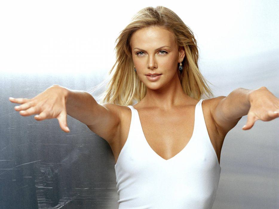 Charlize Theron actress women females female girl girls blonde blondes   c wallpaper
