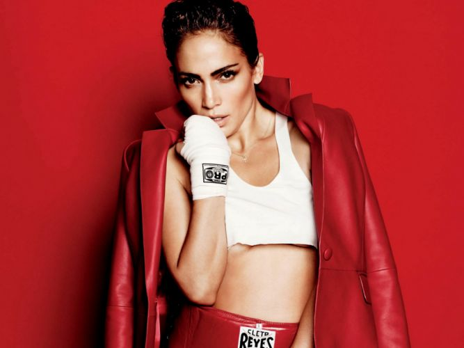 Jennifer Lopez singer pop actress women girl girls music boxing n wallpaper