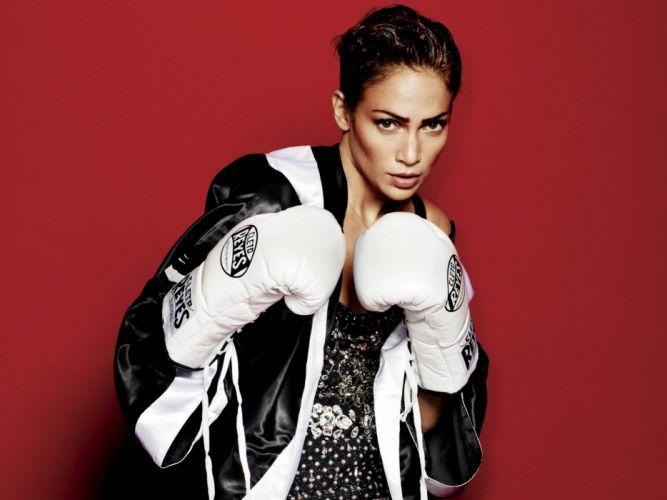 Jennifer Lopez singer pop actress women girl girls music boxing wallpaper