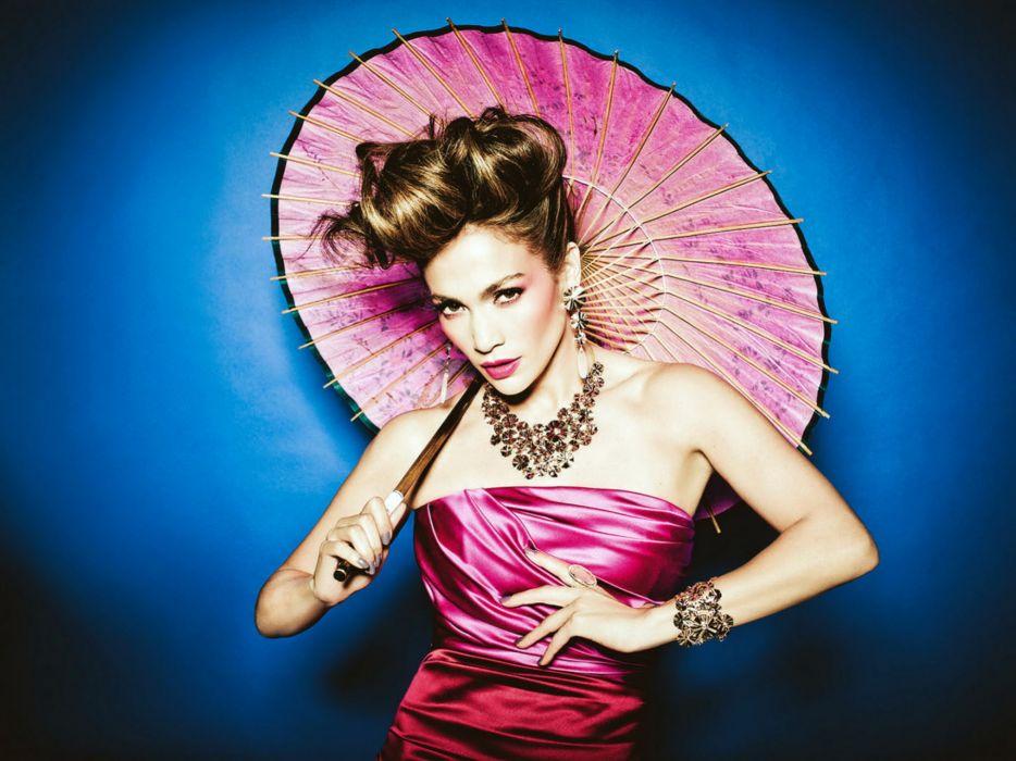 Jennifer Lopez singer pop actress women girl girls music umbrella   d wallpaper
