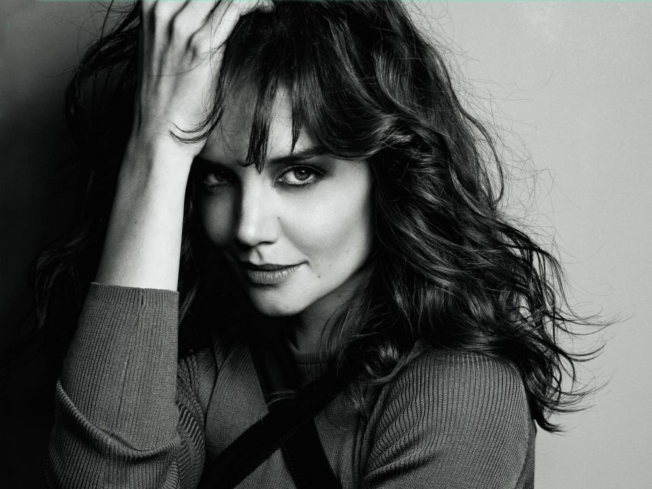 Katie Holmes actress women female females girl girls brunette brunettes  b wallpaper