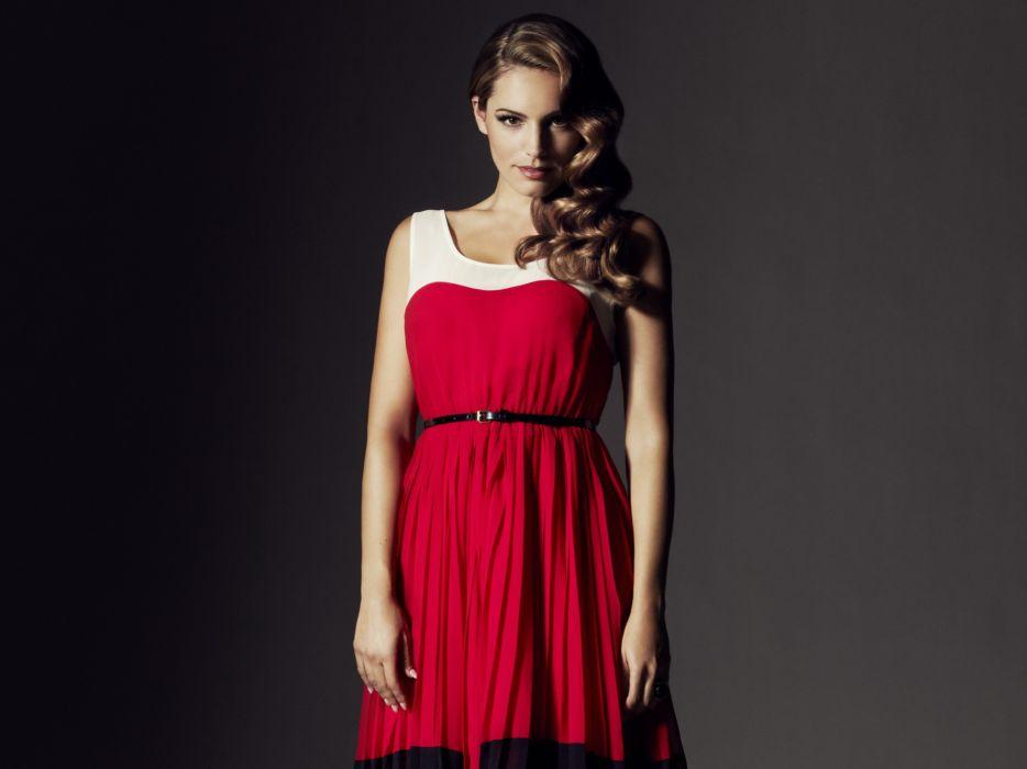 Kelly Brook actress model models women females female girl girls  w wallpaper