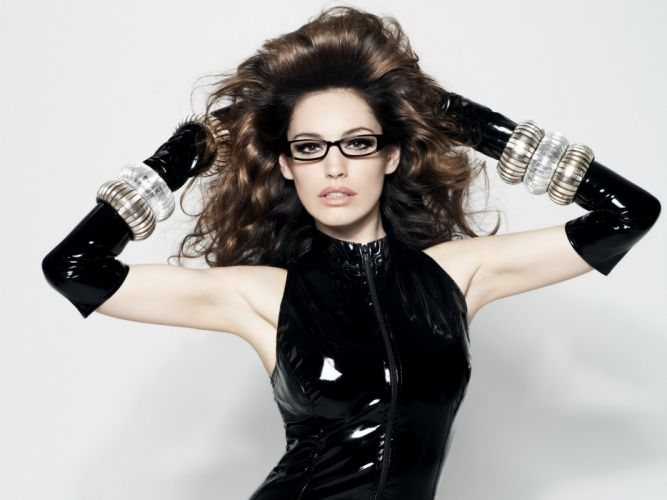 Kelly Brook actress model models women females female girl girls latex wallpaper