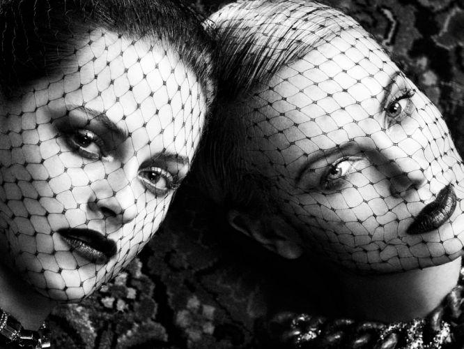 Kristen Stewart Charlize Theron actress women females female girl girls f wallpaper