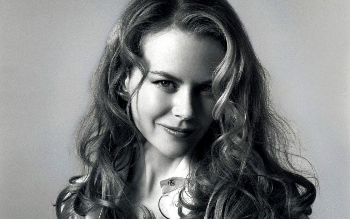 Nicole Kidman actress women female females girl girls blonde blondes redheads rehead     b wallpaper