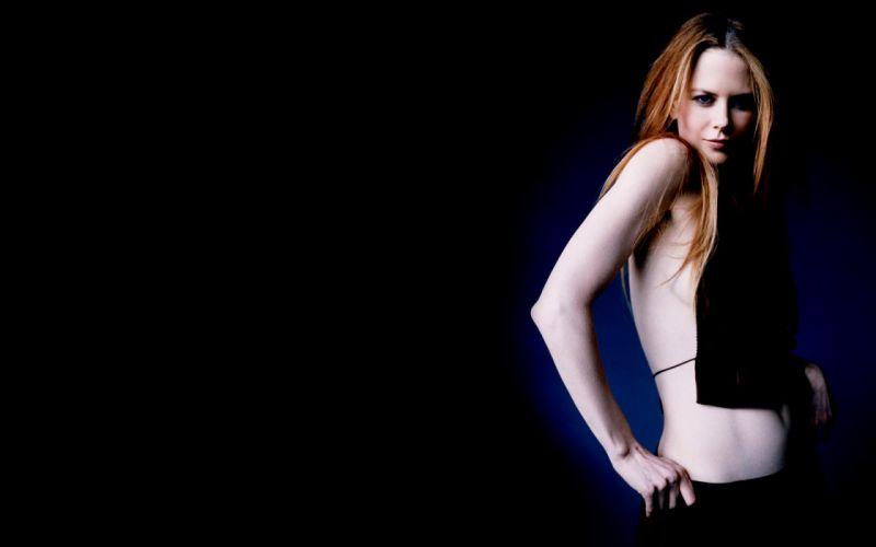 Nicole Kidman actress women female females girl girls blonde blondes redheads rehead w wallpaper