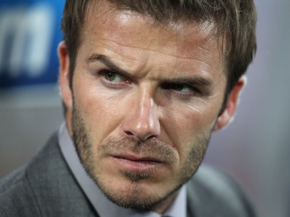 David Beckham soccer men male males sports   d wallpaper