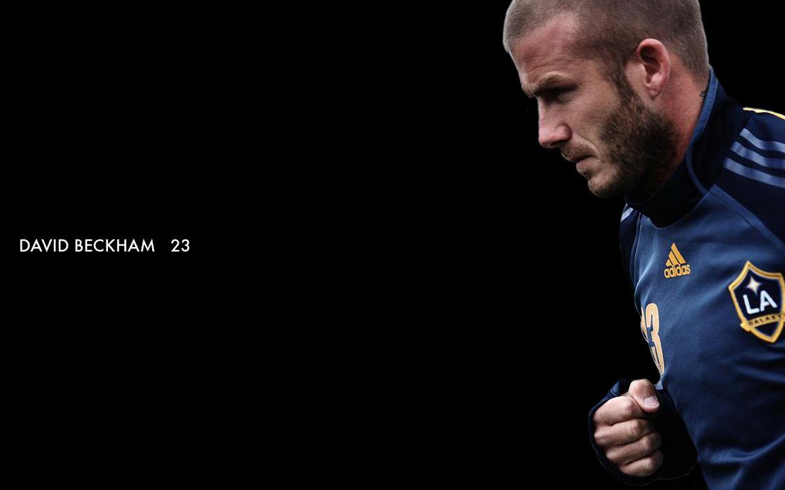 David Beckham soccer men male males sports   a wallpaper