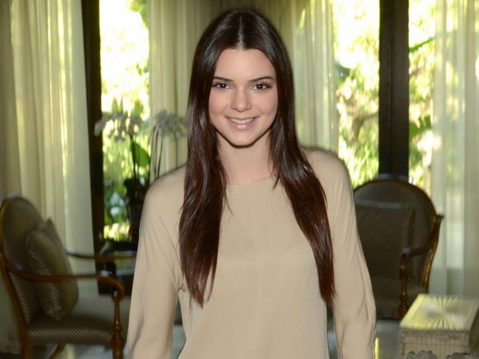 Kendall Jenner model models brunette brunettes women female females girl girls     f wallpaper