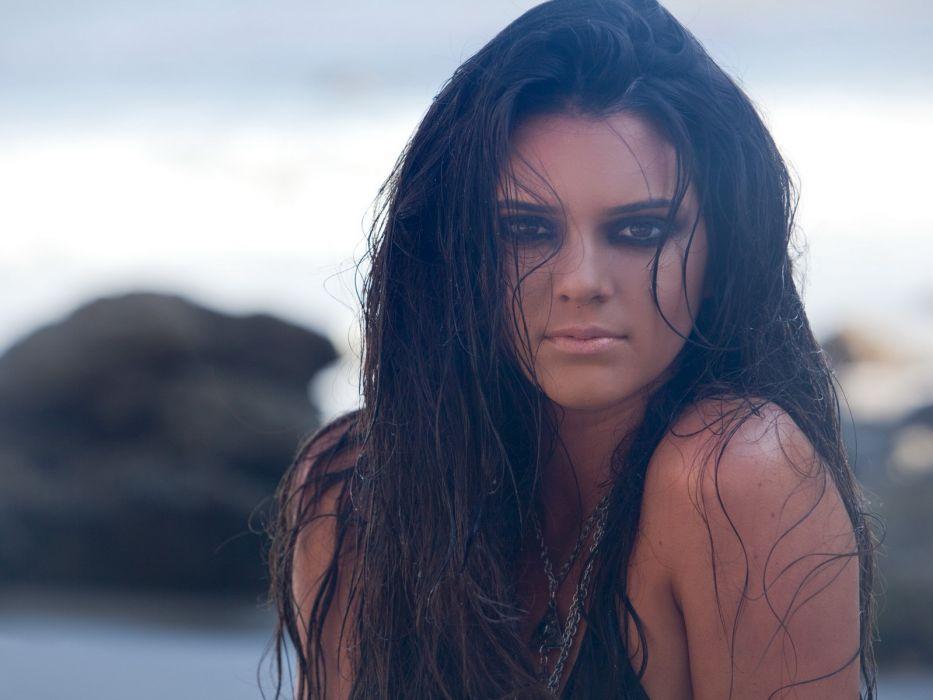 Kendall Jenner model models brunette brunettes women female females girl girls    n wallpaper