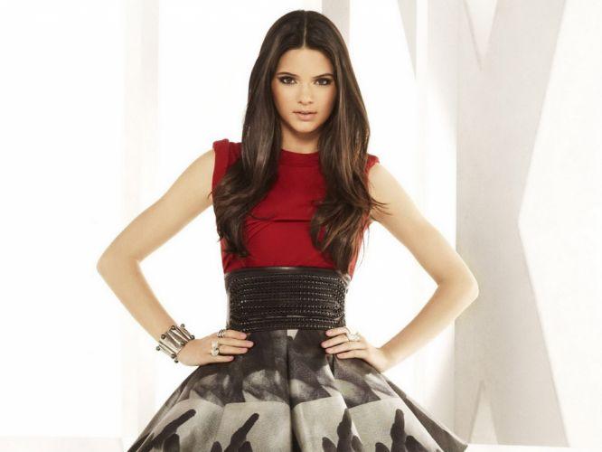 Kendall Jenner model models brunette brunettes women female females girl girls b wallpaper