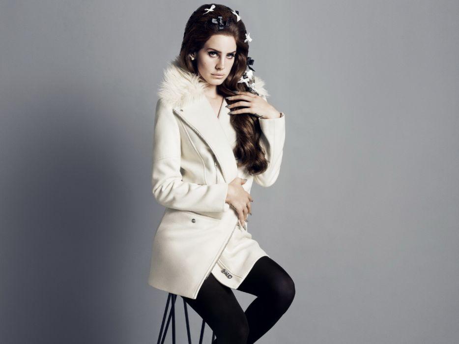 Lana Del Rey singer singers pop brunette brunettes women females female girl girls   d wallpaper